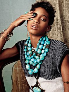 Look out for wunderkind Willow Smith in Issue 6!