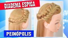 Diadema con Trenza Espiga para Principiantes - Peinados Faciles y Rapidos ♡♡SUSCRÍBETE / DESPLIÉGAME♡♡ REDES SOCIALES: Facebook: http://www.facebook.com/pein...