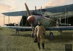 Lieutenant Werner Dittmann in front of his Albatros C aircraft, France, Ww1 Pictures, Aviation Art, World War I, Troops, Riding Helmets, Aircraft, France, Pilots, History