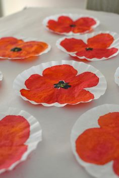 Memorial Day project: DIY Painted Poppy Art – Kids Summer Flower Crafts – DIY Painting for Kids Poppy Craft For Kids, Art For Kids, Kindergarten Art, Preschool Art, Spring Art, Spring Crafts, Painting For Kids, Diy Painting, Remembrance Day Activities