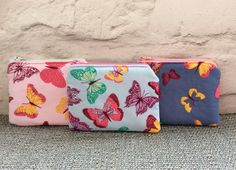 Coin purse, Childrens purse, Earphone pouch, Butterfly purse, Purse, Gifts for girls, Gifts for her. by TotesByWendy on Etsy