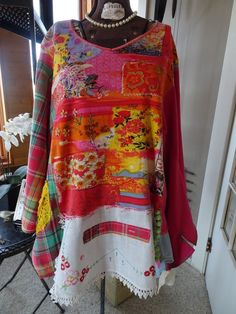 Upcycled TUNIC Magno