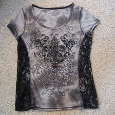 On hold Tons of bling Maurices Tops Tees - Short Sleeve