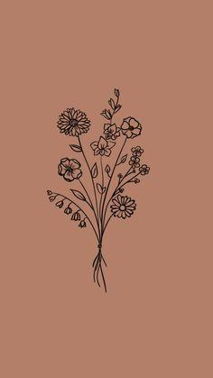 Wispers Of Pink Flowers