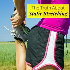 The Truth About Static Stretching - Stretching can make or break your workout. Heres the final word on static stretching and dynamic stretching, plus how to take advantage of both for a better, injury-free workout. Static Stretching, Dynamic Stretching, Wellness Fitness, Fitness Tips, Dance Warm Up, Tight Hip Flexors, Psoas Muscle, Thing 1, Cardio Routine