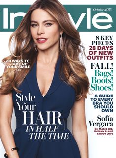 Read a Sneak Peek of Sofia Vergara's Candid Conversation Inside the October InStyle from InStyle.com