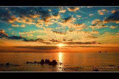 Sunset on the coast of Leghorn-59 by photolabronico, via Flickr