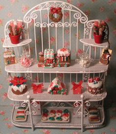 Christmas shop   Miniature 12th scale by BettysMinis on Etsy, £62.00