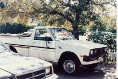 My Mitubishi 4x4 truck. Don't even remember the year. Probably owned it for six months.
