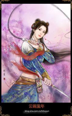 Girls by hiliuyun on DeviantArt Costumes Japan, Fantasy Art Women, Creative Pictures, Fantasy Inspiration, Beautiful Drawings, Fantastic Art, Horror Art, Chinese Art, Japanese Art