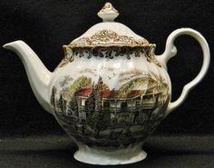 Johnson Bros Heritage Hall Teapot
