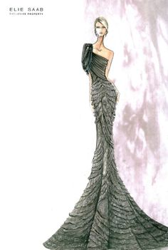 Elie Saab. S/S 2012 Couture  Be Inspirational ❥ Mz. Manerz: Being well dressed is a beautiful form of confidence, happiness politeness