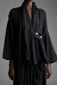 Vintage Y's Yohji Yamamoto Linen Jacket Designer Vintage Clothing Minimal…