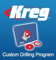 Kreg level loc reducing rings 5 piece ring and slot greentooth Gallery