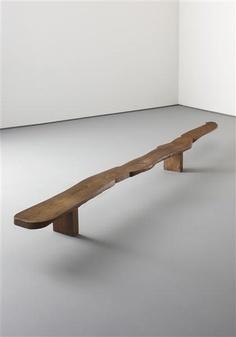 Pierre Jeanneret . low elm console, 1942