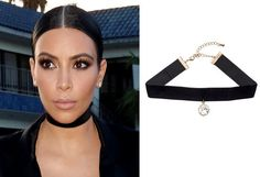 Since Kim Kardashian accessorizes her looks with choker necklaces, naturally, we're taking a closer look at the collar-hugging piece of jewelry.