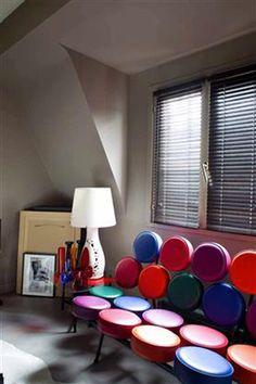 14 id es couleur taupe pour d co chambre et salon taupe for Peinture salon rouge et taupe