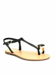 Put A Jewel On It Sandals