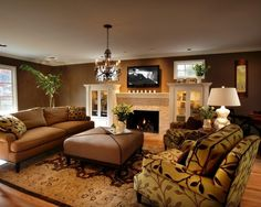 Traditional Living Room Built In Bookcase Design, Pictures, Remodel, Decor and Ideas - page 16