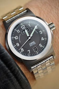 Oris watch, for sale at www.caratsfinejewelryandwatches.com