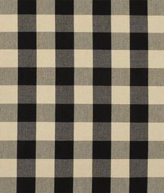 Found a match finally!!!  Covington Sandwell Black/Tan Fabric - $15.85 | onlinefabricstore.net