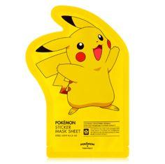 [TONYMOLY] Pokemon Sticker Mask Sheet (3 PCS) - Newtle
