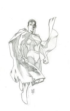 Superman by Adam Hughes