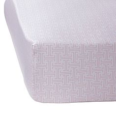 Pink crib sheets cute with Navy and white bedding http://www.serenaandlily.com/Baby/A-La-Carte-Crib-Sheets-Shell-Trellis