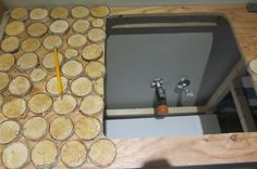 Product To Waterproof  Cord Wood (birch) Counter Top