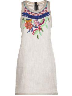 BARBARA BUI Embroidered Beaded Dress