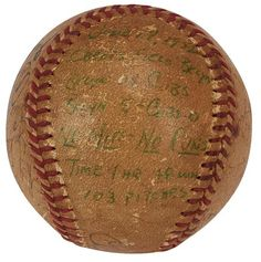 Dodgers Blue Heaven: Carl Erskine's Last-Out No-Hit Ball Available at Lelands
