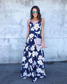 Garden Party Floral Maxi Dress