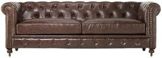 Sigh.......Will I ever own a chesterfield??Restoration Hardware Kensington (Chesterfield) Leather Sofa