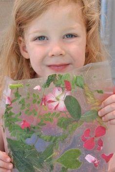 Nature Craft: Collage - Kids Activities Blog