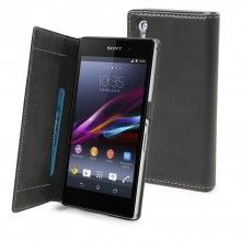 Funda Xperia Z1 Made For Xperia - Slim Folio Negra  $ 306,11