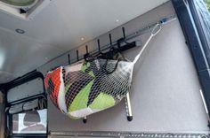 Sprinter Van Build: The Ultimate Adventure Rig Van Storage, Hanging Storage, Speaker Box Carpet, Eriba Puck, Sprinter Van, Mercedes Sprinter, Camper Van Conversion Diy, Portable Toilet, Composting Toilet