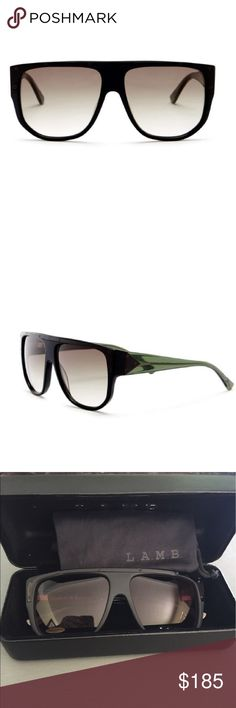 L.A.M.B Sunglasses L.A.M.B Sunglasses.  NWT.  Super stylish rectangle sunglasses.  Includes case and dust cloth. L.A.M.B. Accessories Sunglasses