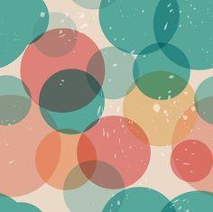 Retro circles fabric by berrycat on Spoonflower - custom fabric