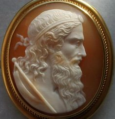 Cameo of Cronos or Cronus or Kronus or Khronos or Χρόνος or Father Time or just Time;  but not Aeon