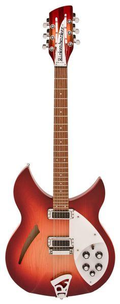 Rickenbacker 330/12 Fireglo Electric Guitar 12 String