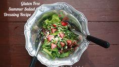 Gluten Free Summer Salad Dressing Recipe Salad Dressing Recipes, Salad Dressings, Gluten Free Diet, Gluten Free Recipes, Celiac Disease, Free Summer, Summer Salads, Glutenfree, Veggies