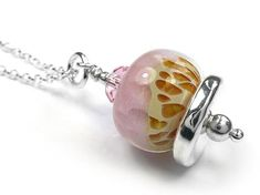 A fun pendant designed by Indigo Silver featuring a fun lampwork glass bead in watermelon colours. This is a one-off pendant - unique and unusual. Glass Pendants, Glass Beads, Caramel Color, Pendant Design, Strawberry Shortcake, Silver Beads, Sterling Silver Jewelry, Swarovski Crystals, Indigo