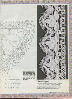 ❤ ♥ Bico em Crochê Flores -   /   ❤ ♥  Beak Crochet Flowers -
