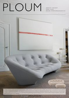 #ploum #ligneroset #ligne #roset #ronan #erwan #bouroullec #sofas #sofa #sofa3 #heidelberg #germany #kurfürstenanlage 3 #www.sofa3.de #info@sofa3.de #+49(0)622121001 Sofas, White Dining Table, Ligne Roset, Designer, New Homes, Furniture, Living Room, House, Home Decor