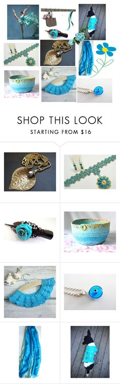 """Summer Gifts"" by anna-recycle ❤ liked on Polyvore featuring Rustico, modern, rustic and vintage"