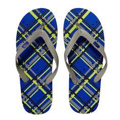 Plaid Flip Flops | Dorm Bedding and Bath | OCM.com