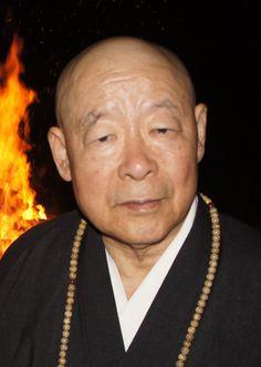 Ven. Eido Shimano Roshi at Dai Bosatsu Zendo for OBON