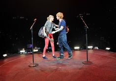 Taylor Swift And Ed Sheeran | GRAMMY.com