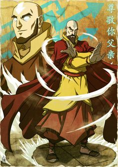 avatar the last airbender, aang, the legend of korra, tenzin