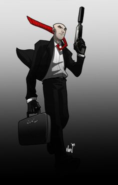 A is for Agent 47 by Paranoidvin.deviantart.com